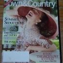 Town and Country Magazine August 2011 Summer Seductions on the Cover/RV Travel
