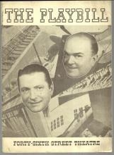 Playbill Anything Goes A New Musical Comedy 1935 William Gaxton and Victor Moore