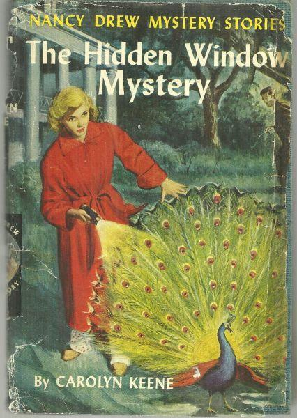 Hidden Window Mystery by Carolyn Keene Nancy Drew #34 1956 With Dust Jacket