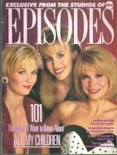 Episodes ABC Soaps Magazine January/February 1991 101 Things to Know About AMC