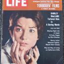 Life Magazine February 23, 1962 Shirley MacLaine on cover