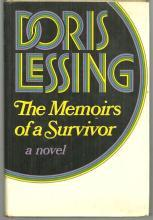 Memoirs of a Survivor by Doris Lessing 1974 1st edition with Dust Jacket