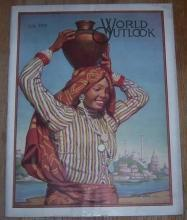 World Outlook Magazine July 1920 Mexican Peace, Can India Stand Home Rule