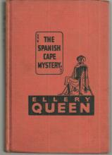 Spanish Cape Mystery by Ellery Queen A Problem in Deduction 1940 Vintage Mystery