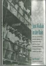 Just Walkin' in the Rain by Jay Warner Biograpgy of Johnny Bragg 2001 1st ed DJ