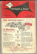 American Horologist and Jeweler Magazine June 1963 Advertising For Summer/Clocks