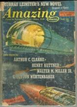 Amazing Stories Magazine June 1966 Encounter in the Dawn by Arthur C. Clarke