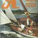 Sail Magazine November 1985 Van Brown's 1906 Sloop on the Cover/Cup Watch/Mexico