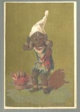 Victorian Trade Card for Edgar S. Allien Men's Outfitter African American Boy