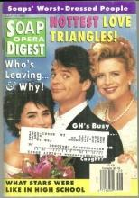 Soap Opera Digest July 19, 1994 GH Lois, Ned and Katherine Love Triangle Cover