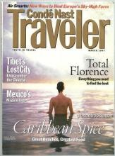 Conde Nast Traveler Magazine March 1997 The First Time I Saw Florence