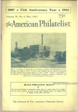 American Philatelist Magaxine May 1962 Encyclopedia of Designs
