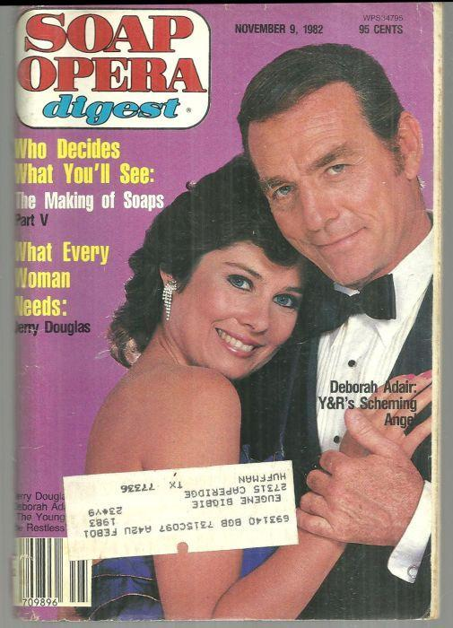 Soap Opera Digest November 9, 1982 Young and Restless' Deborah Adair on Cover