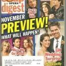 Soap Opera Digest November 4, 2008  November Preview on the Cover