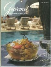 Gourmet Magazine June 1990 Perennial Garden Luncheons