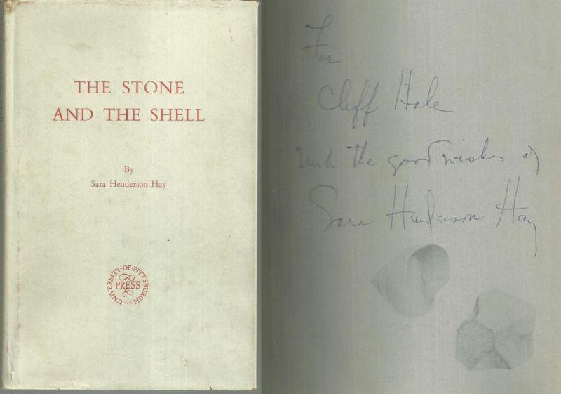 Stone and the Shell Signed by Sara Henderson Hay 1960 Poetry