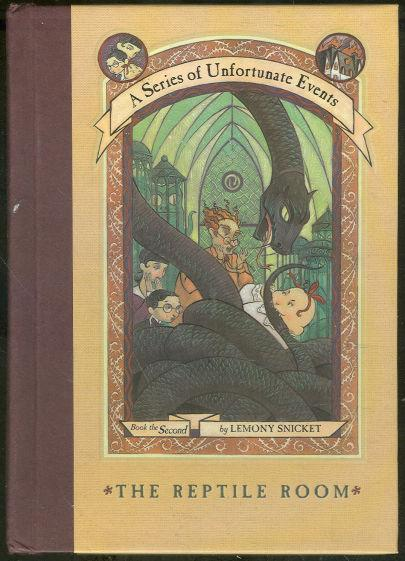 Reptile Room by Lemony Snicket 1999  A Series of Unfortunate Events Vol. 2