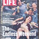 Life Magazine September 3, 1971 The Endless Weekend on cover