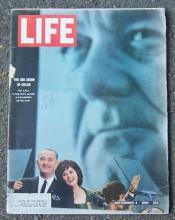 Life Magazine September 4, 1964 LBJ's Convention on the Cover