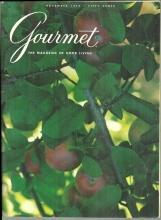 Gourmet Magazine November 1973 Cider/Art of Carving/Berlin/Thanksgiving Dinner