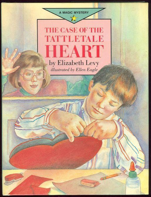 Case of the Tattletale Heart by Elizabeth Levy 1990 1st edition Valentine Story
