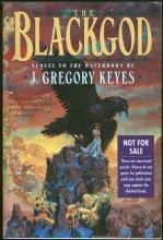 Blackgod by J. Gregory Keyes 1997 Advance Reading Copy Sequel to The Waterborn