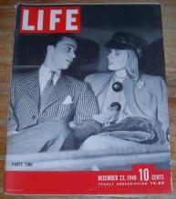 Life Magazine December 23, 1940 Christmas Parties Scene/Watches/Lana Turner