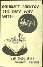 Gourmet Cookery the Easy Way with Shoffeitt Salt Substitute