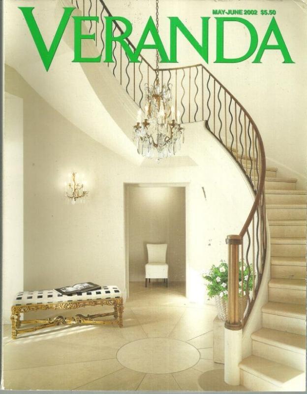 Veranda Magazine May/June 2002 Northern Italian Flavors/An Italian Outlook