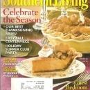 Southern Living Magazine November 2009 Celebrate the Season on Cover
