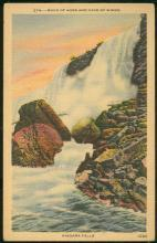 Postcard of Rock of Ages and Cave of Winds, Niagara Falls, New York 1946