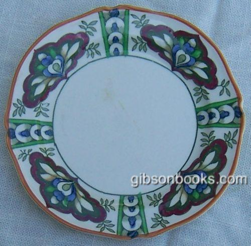 Vintage Woods Ware China Small Plate in Nile Pattern