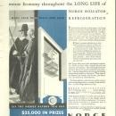 1932 Good Housekeeping Magazine Advertisement for Norge Rollator Refrigeration