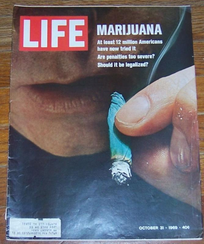 Life Magazine October 31, 1969 Marijuana on the cover/Wild Colorado/Puppets