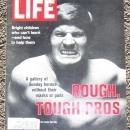 Life Magazine October 6, 1972 Rough Tough Football Pros on the cover