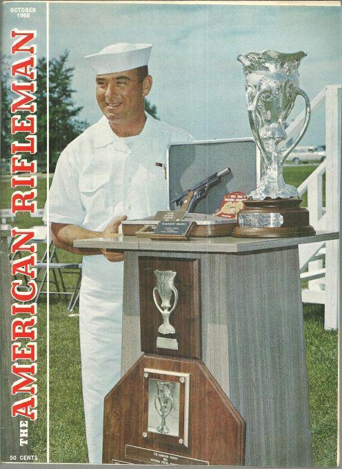 American Rifleman Magazine October 1966 1966 Pistol Championships