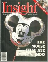 Insight on the News Magazine October 30, 1989 The Mouse That Ate Orlando