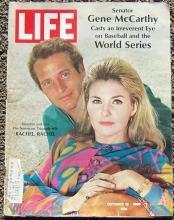Life Magazine October 18, 1968 Paul Newman directs Joanne Woodward on Cover