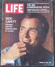Life Magazine October 30, 1970 Dick Cavett on Cover