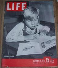 Life Magazine October 28, 1946 Dick and Jane Readers/Broadway/Hinky Dink/Ukraine