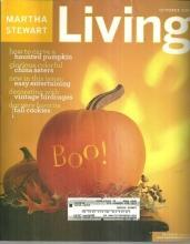 Martha Stewart Living Magazine October 2002 Autumn Picnic/Haunted Pumpkins