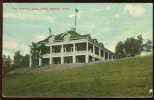 Country Club, Cedar Rapids, Iowa 1911 Postcard