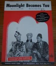 Moonlight Becomes You From  Road to Morocco Bob Hope and Bing Crosby 1942 Music