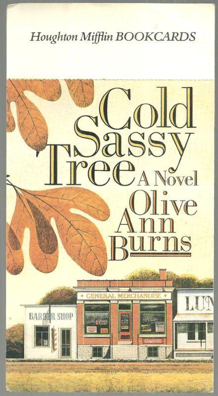 Houghton Mifflin Bookcards Postcard of Cold Sassy Tree Novel by Olive Ann Burns