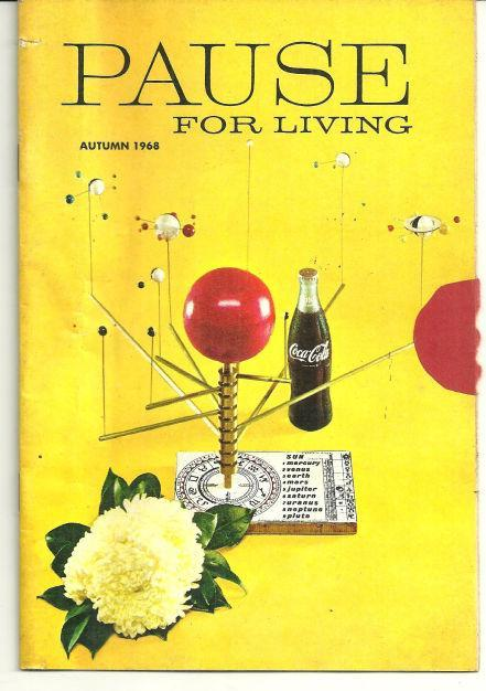 Pause for Living Coca Cola Magazine Autumn 1968 Light Up With Candles