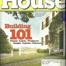 This Old House Magazine September 2002  Building 101 on the Cover