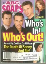 ABC Soaps in Depth September 27, 2005 General Hospital Who's In Who's Out