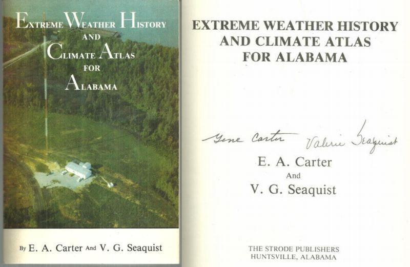Extreme Weather History and Climate Atlas for Alabama Signed 1984