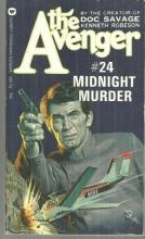 Midnight Murder by Kenneth Robeson Avenger #24 1974 Vintage Paperback