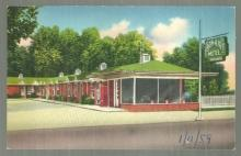 Postcard of Bon-Air Motel, US Highway 231, 431 North, Huntsville, Alabama